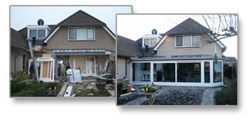 Opbouw serre: bouwkundig en technisch werk